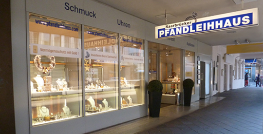 Direktlink zu Borrow money in the pawn shop Saarbrücken